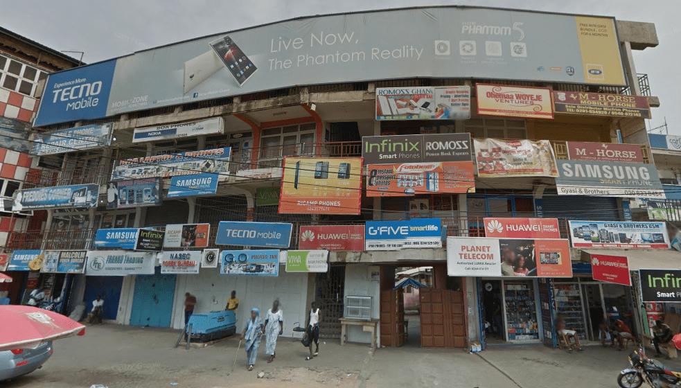 The Tecno Ghana Office at Circle, Odo Rise