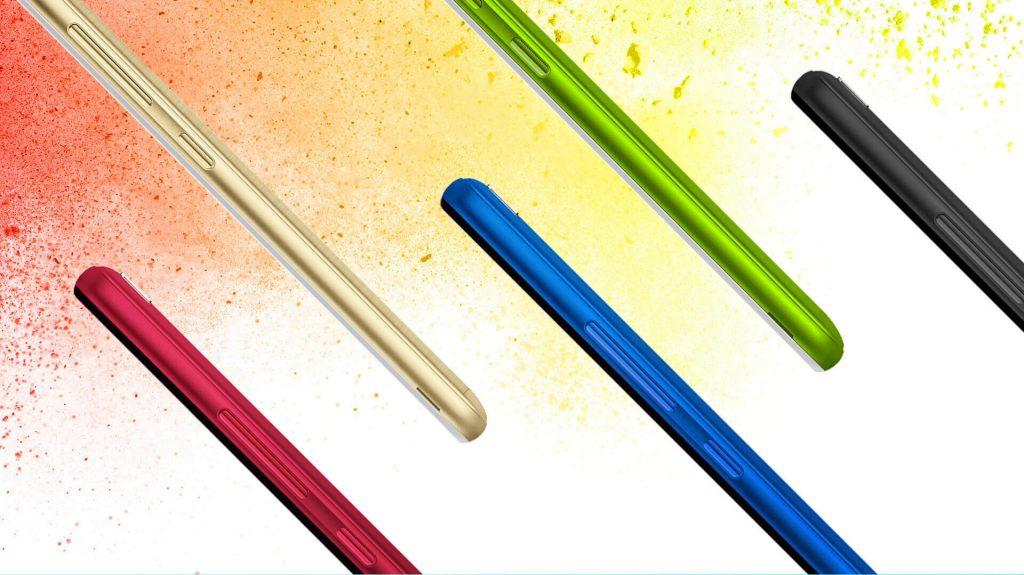 The Infinix Smart X5010 comes in 5 Unique and Smart Colours