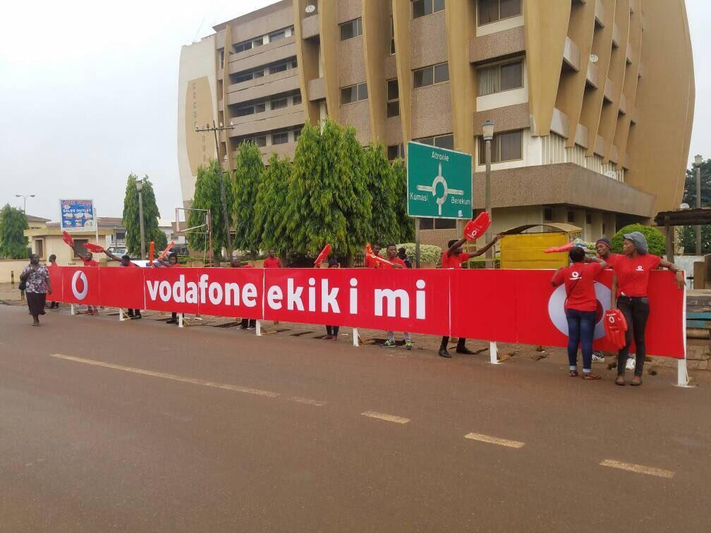 The Vodaofne Ekiki Mi Promo in Sunyani