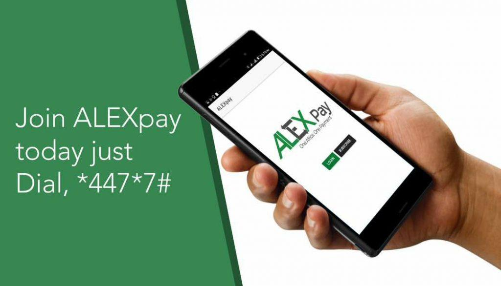 To join ALEXpay, dial *477*7# and follow the prompts.