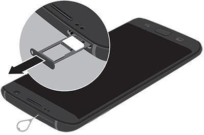 There are various ways to properly insert a sim card in a phone. Check your phone's manual to be sure.
