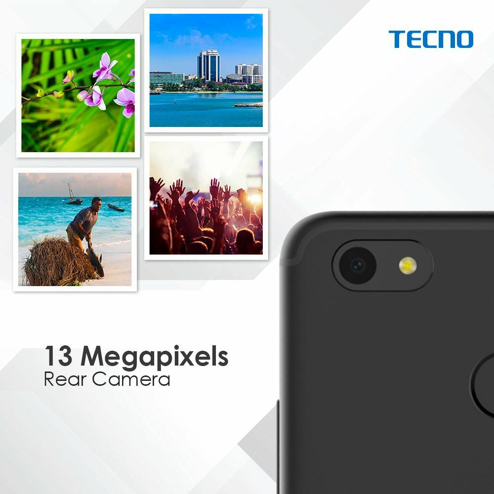 13MP Camera for all your Photography pleasures.