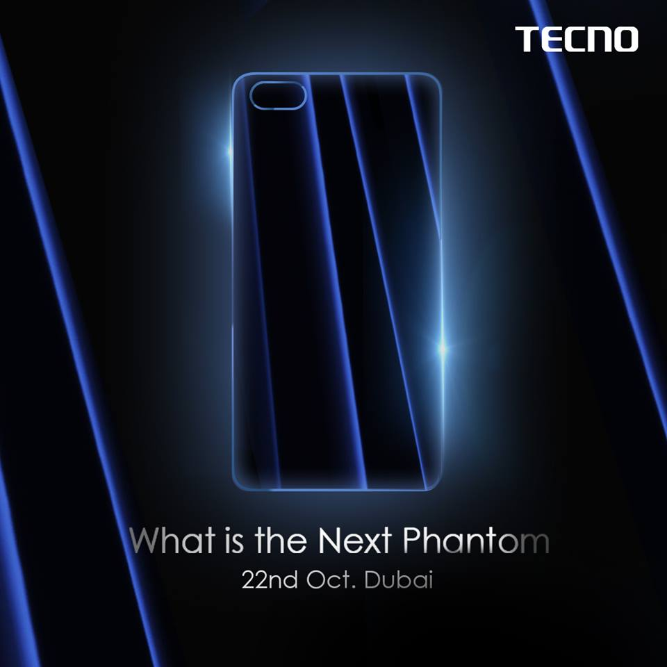 The Tecno Phantom 8 Plus and the Phantom 8 will both be unveiled on the 22nd of October 2017 in Dubai.