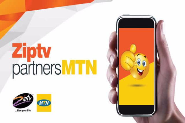 Ziptv strategically Partnered with MTN in 2017 to reach more customers and provide better services.