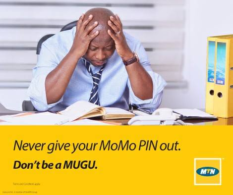Man distressed after giving out his MTN Mobile Money PIN and suffering stress.