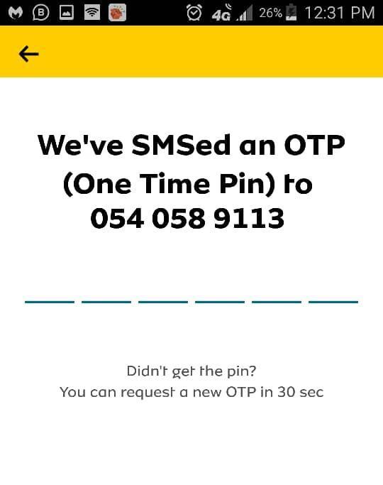 OTP Verification Code