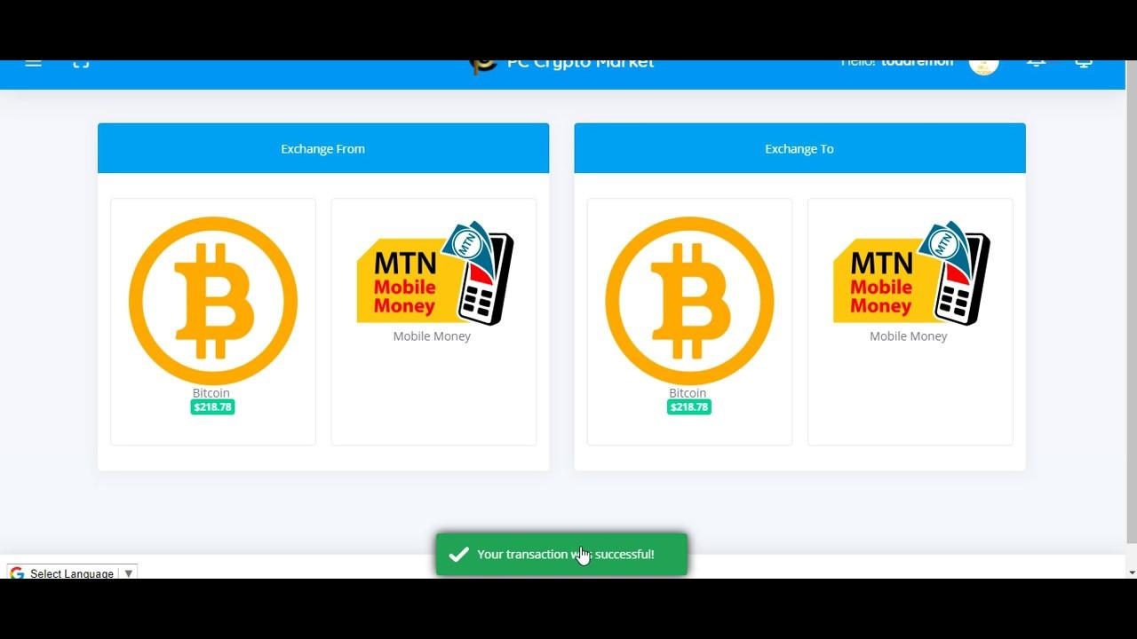 How To Withdraw Bitcoin Through Your MTN Mobile Money Account