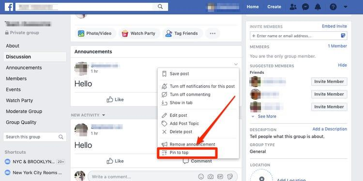 How To Pin And Unpin A Post On Facebook Page And Why You Should
