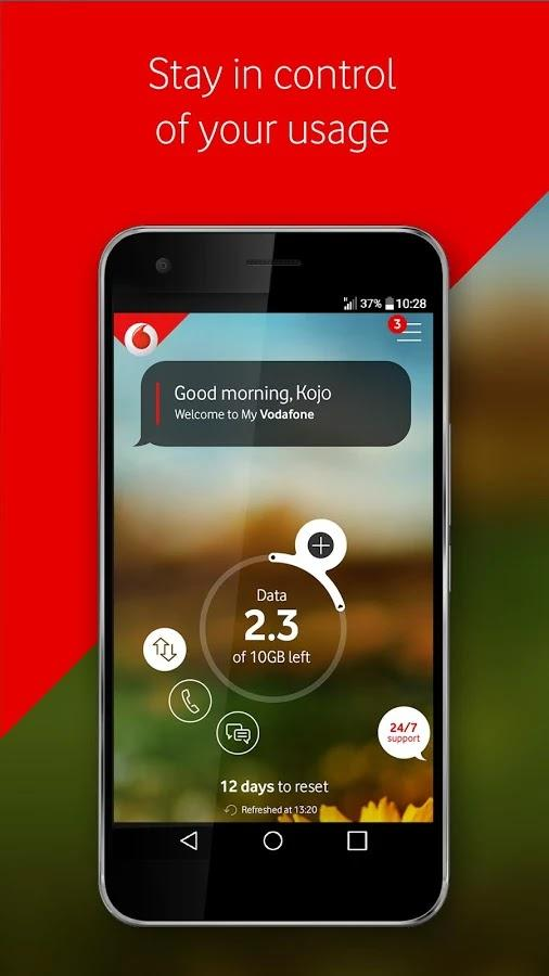 Features Of The My Vodafone Ghana App