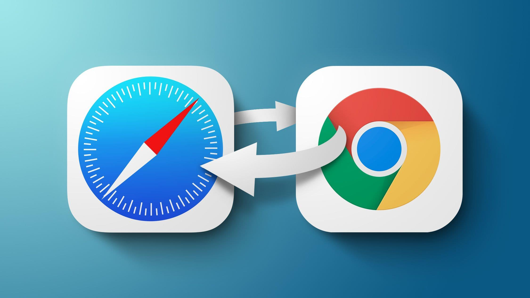 how to change the default web browser on iphone and ipad
