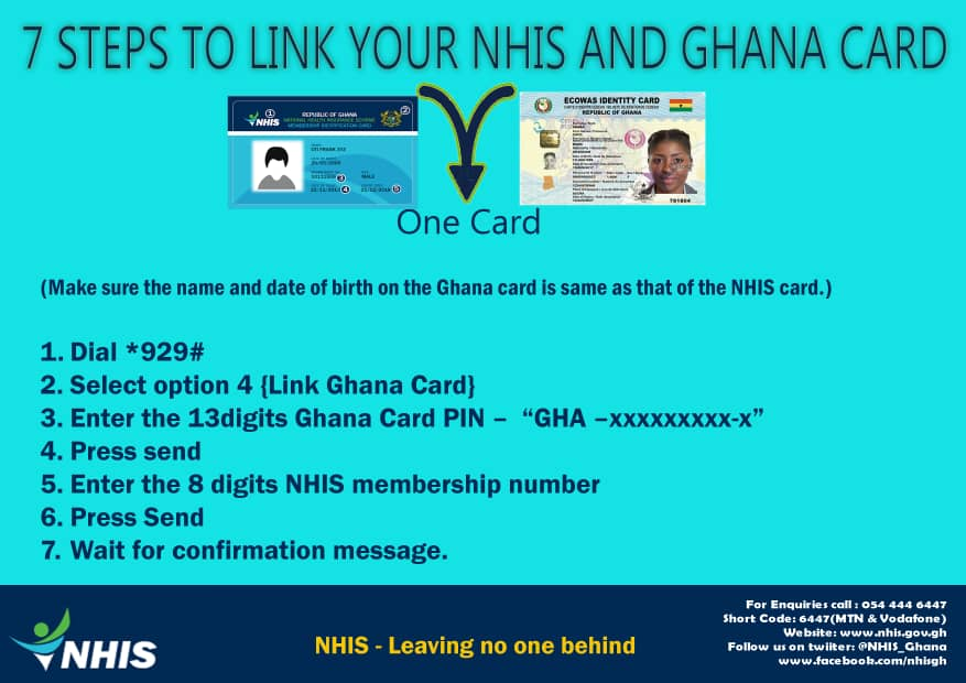 How to link your NHIS to your Ghana Card