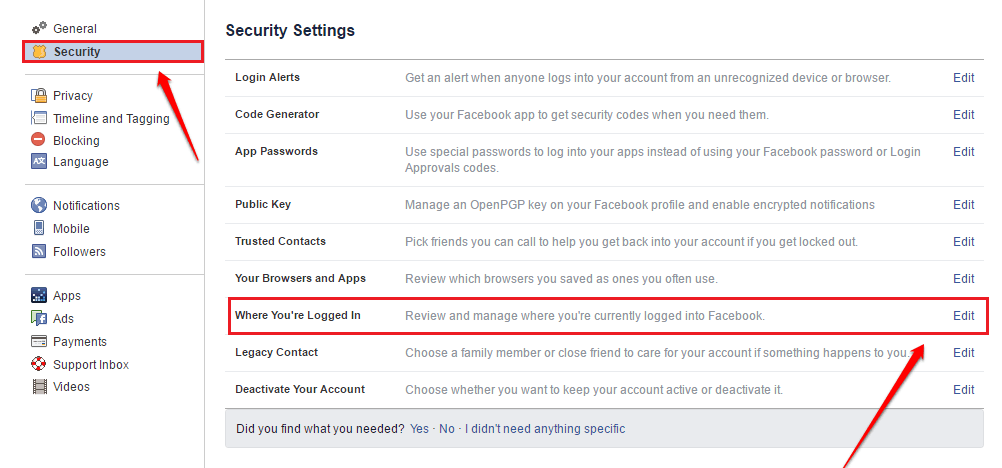 How To Know If Someone Has Accessed Your Facebook Account