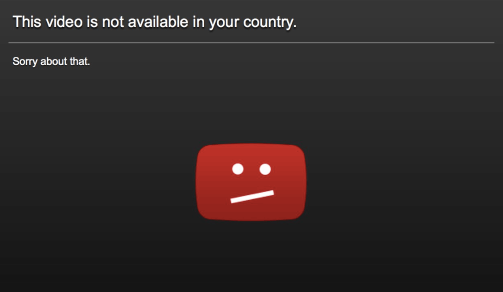 How To Solve 'Content Not Available In Your Country' Problem On Youtube And Other Sites